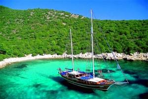 Turkije Vakantie Blue Cruise Baai