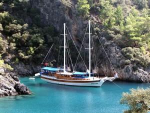 Turkije Vakantie Blue Cruise Gulet