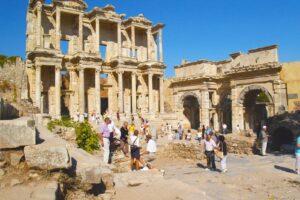 Efeze - Celsus Bibliotheek afbeelding